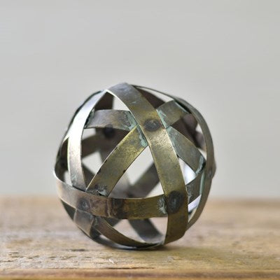 "4"" TIN SPHERE"