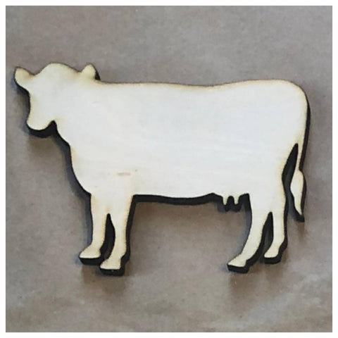 Cow Laser Cut Out