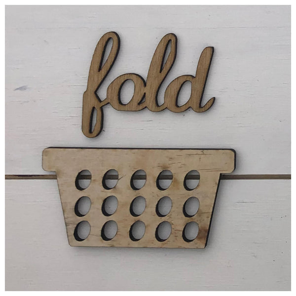 Fold & Hamper Laser Cut Out