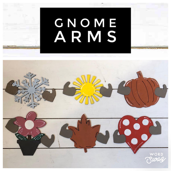 "Additional Arms for 12"" Gnome"