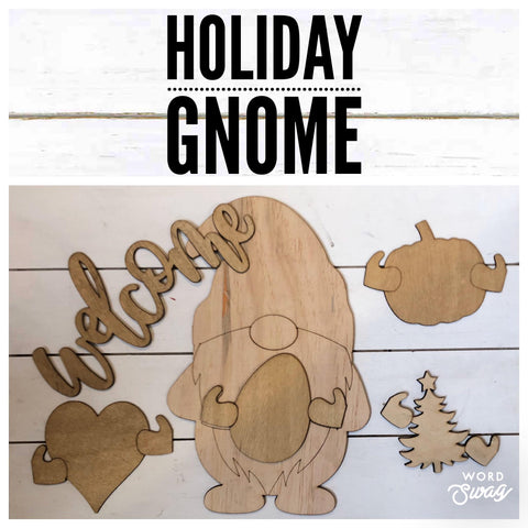Holiday Gnome set