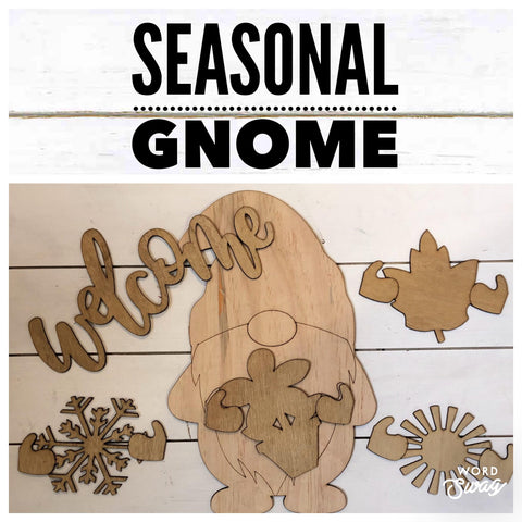 Seasonal Gnome set