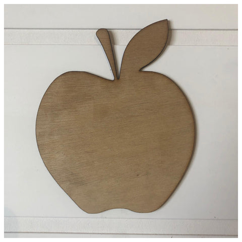 Apple Laser Cut Out