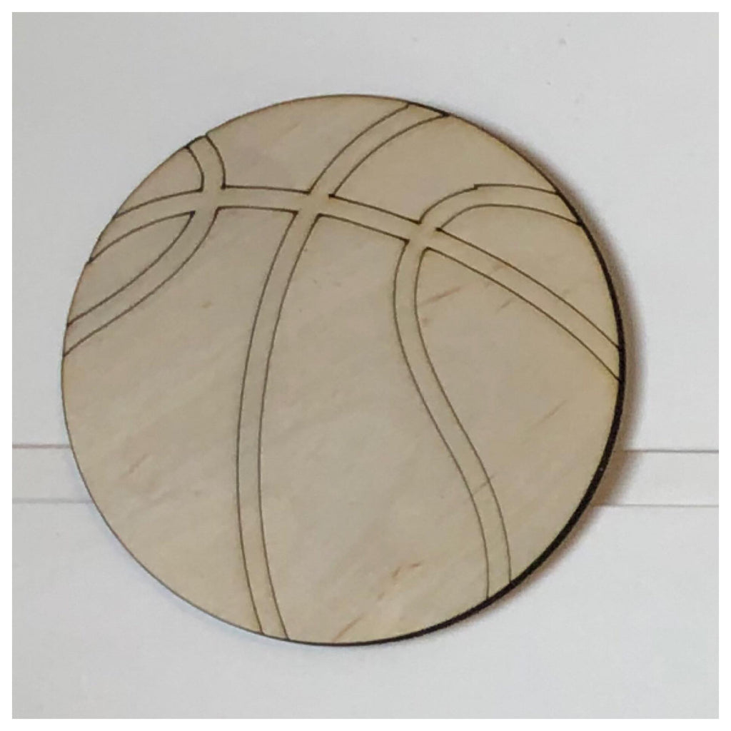 Basketball Laser Cut Out