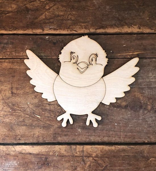 Bird Laser Cut Out