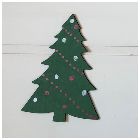 Christmas Tree Laser Cut Out