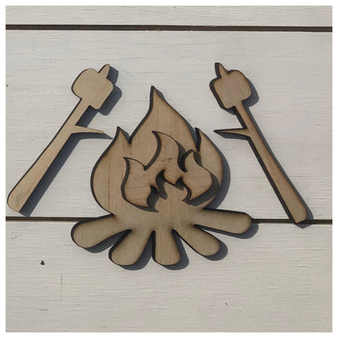 Bonfire Laser Cut Out