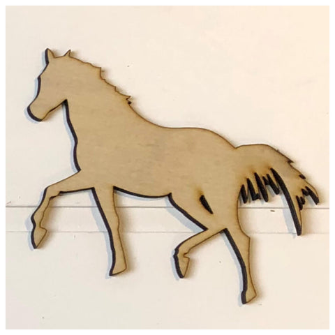 Horse Laser Cut Out