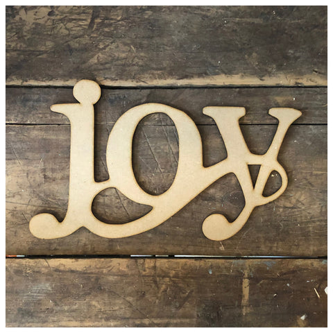 Joy Laser Cut Out