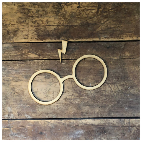 Harry Potter Glasses with lightening bolt