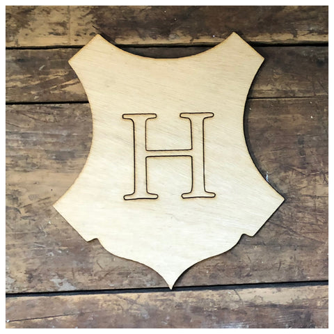 Harry Potter Hogwarts crest Cutout