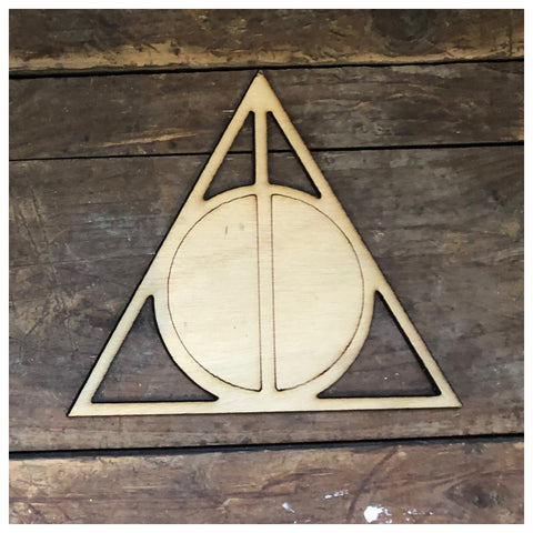 Harry Potter Deathly Hallows Cut out