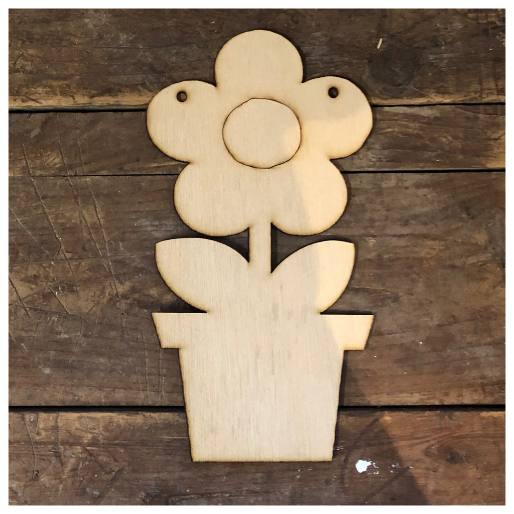 Flower pot  Laser Cut Out