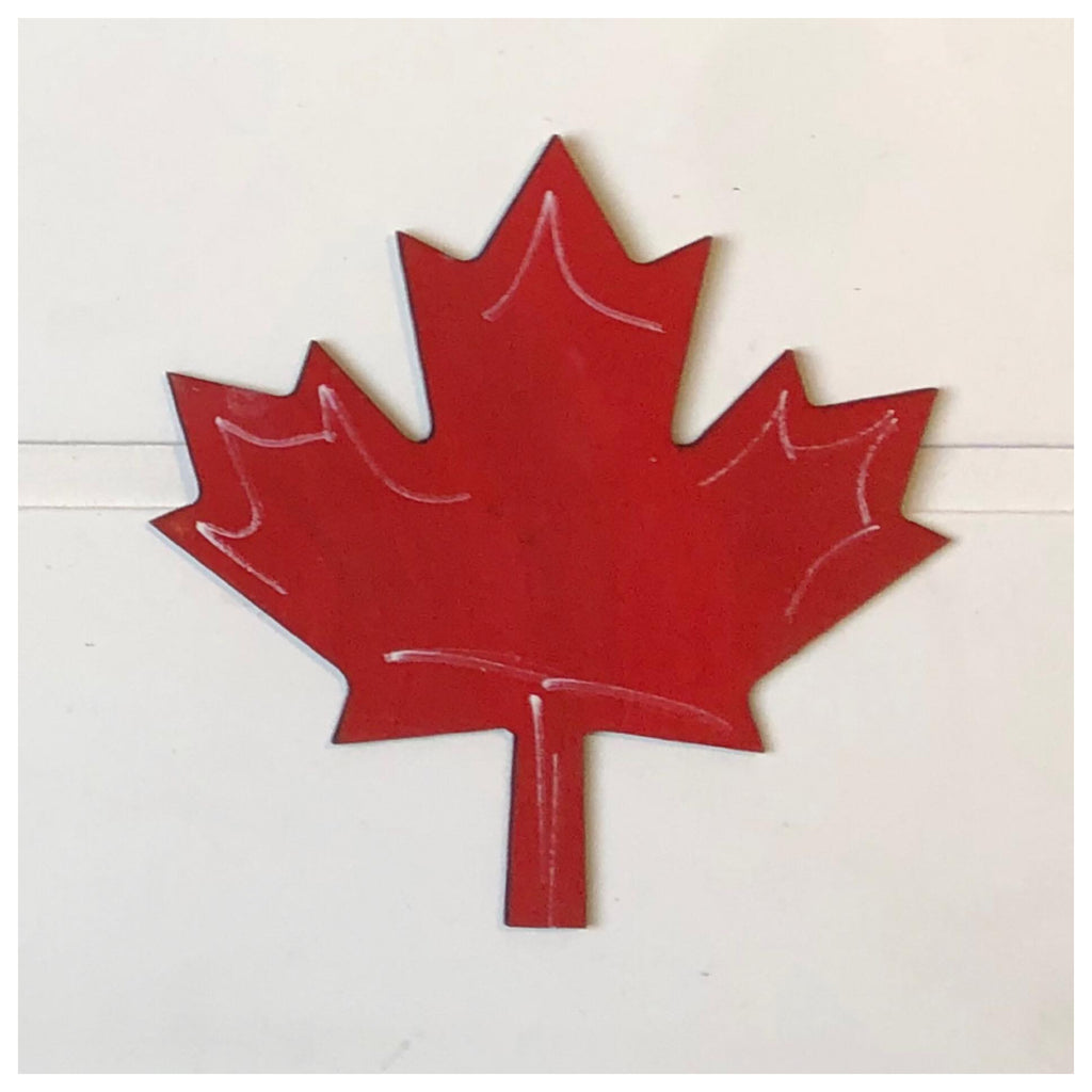 Maple Leaf Laser Cut Out
