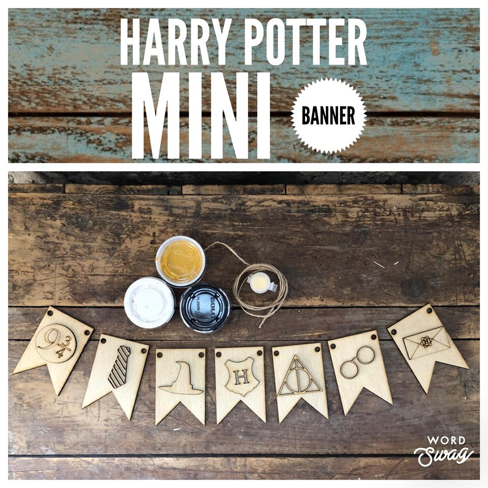 HARRY POTTER Mini Banner
