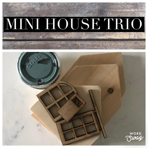 Mini Trio House Kit