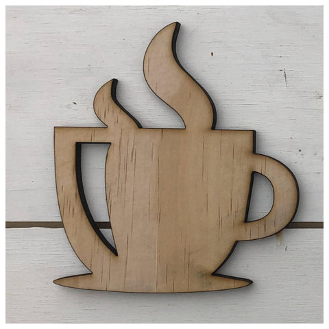 Coffee Mug Laser Cut Out
