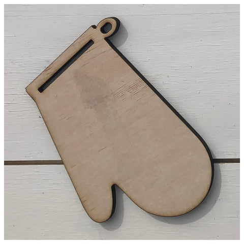 Oven Mitt Laser Cut Out