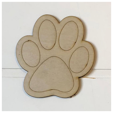 Paw Laser Cut Out