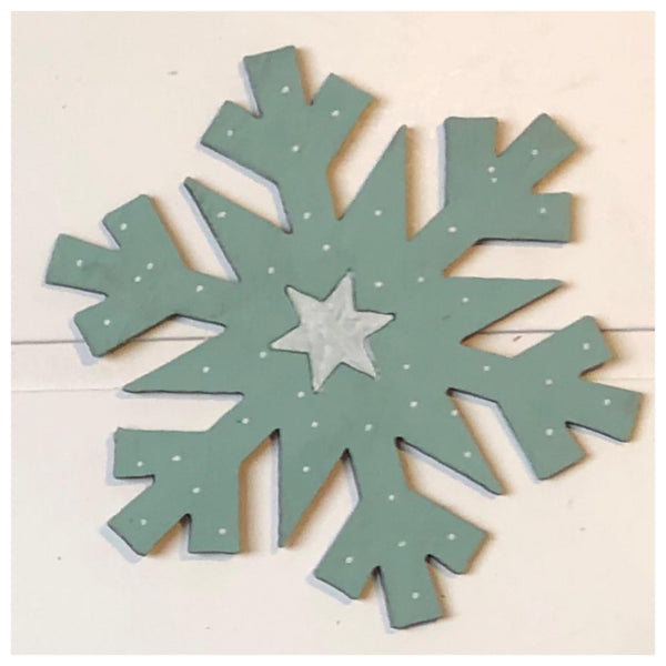 SnowFlake Laser Cut Out