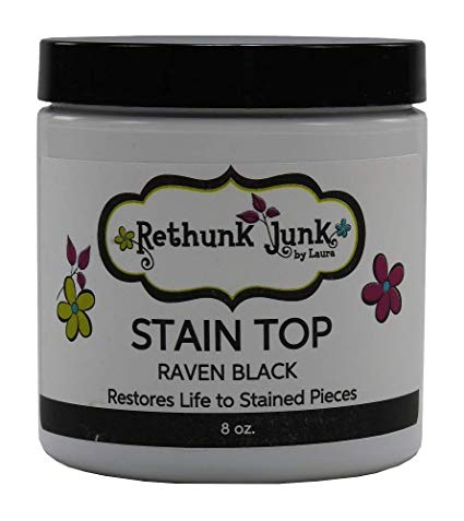 Stain top raven black
