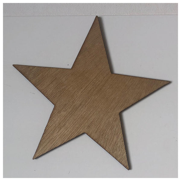 Star Laser Cut Out