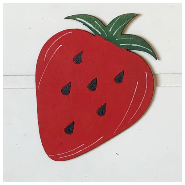 Strawberry Laser Cut Out