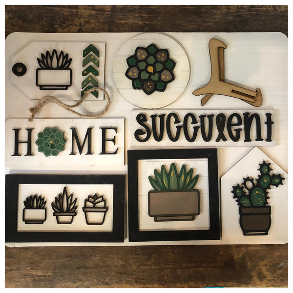 SUCCULENTS Tray Kit