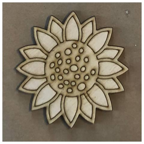 Sun Flower Laser Cut Out