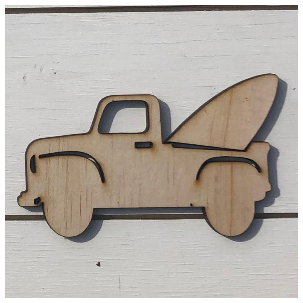 Surf Truck Laser Cut Out