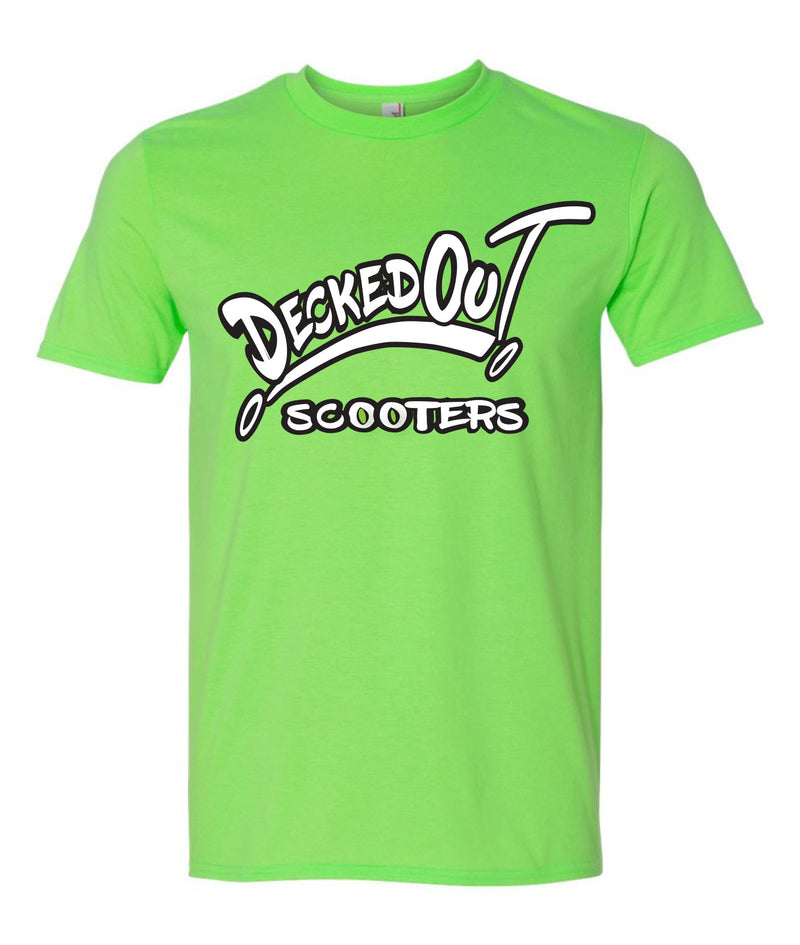 DeckedOut Logo T (short sleeve) - DeckedOut Scooters