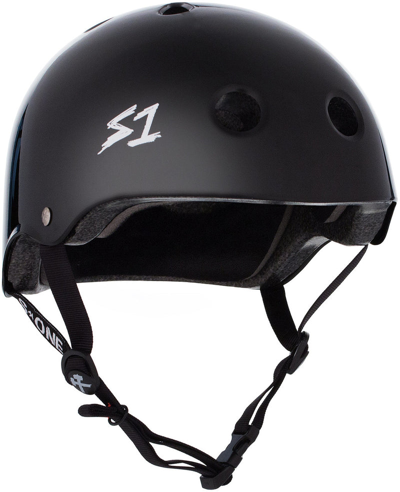 S1 Lifer Helmet -- BLACK GLOSS