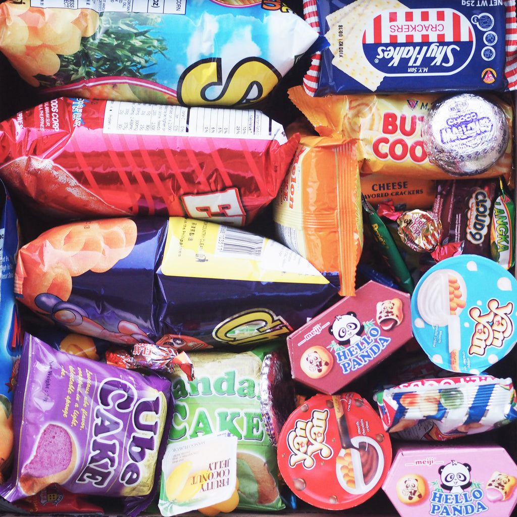 Filipino Snacks, #PinoyTreats, IKAHON