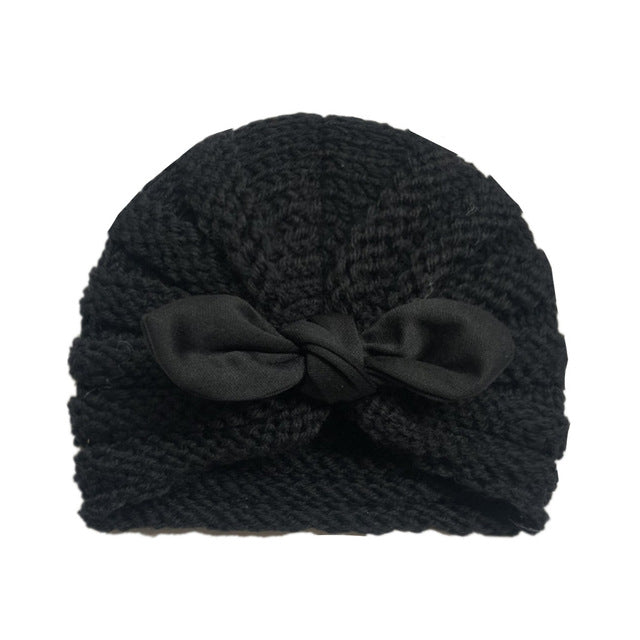 Knitted Bow Turban