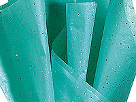 Aquamarine Gemstone Tissue Paper