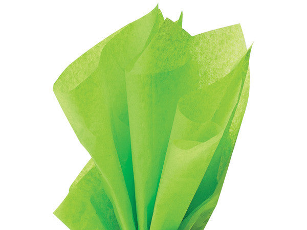 Solid Tissue Paper Bright Lime