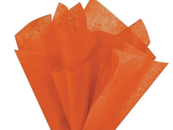 Burnt Sienna Solid Tissue Paper 20X30
