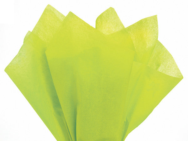 Solid Tissue Paper Citrus Green