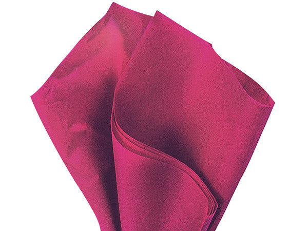 "Cranberry Solid Tissue 20""X30"""