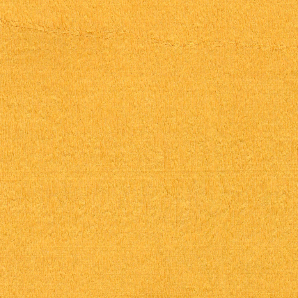 Canary Yellow Crepe Paper