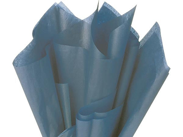 Colonial Blue Solid tissue Paper 20X30