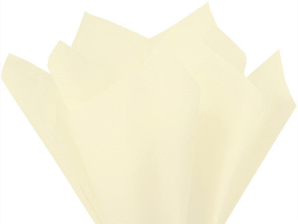 Cream Solid Tissue 20X30