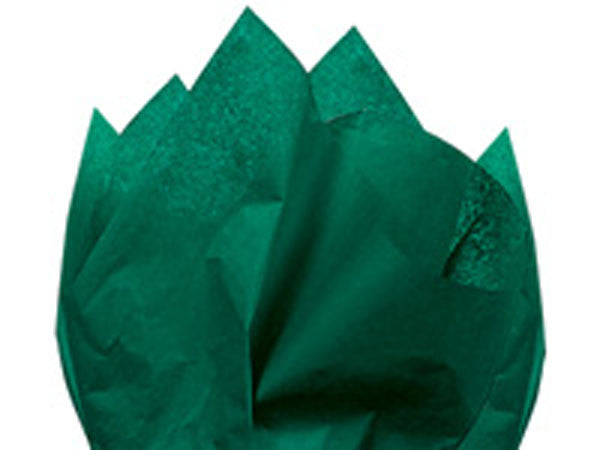Solid Tissue Paper Emerald Green