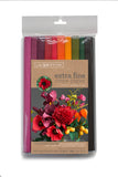 Lia Griffith Crepe Paper Folds Extra Fine - Enchanted Garden - 10 pack Assortment