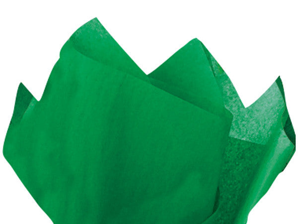 Solid Tissue Paper Festive Green