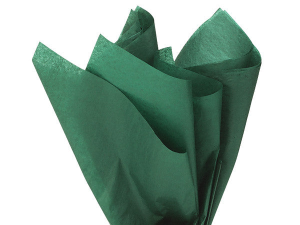 Solid Tissue Paper Forest Green