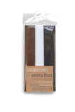 Lia Griffith Crepe Paper Folds Extra Fine - Espresso, White, Black - 3 pack Assortment