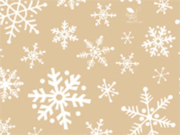 Frosted Snowflakes Tissue