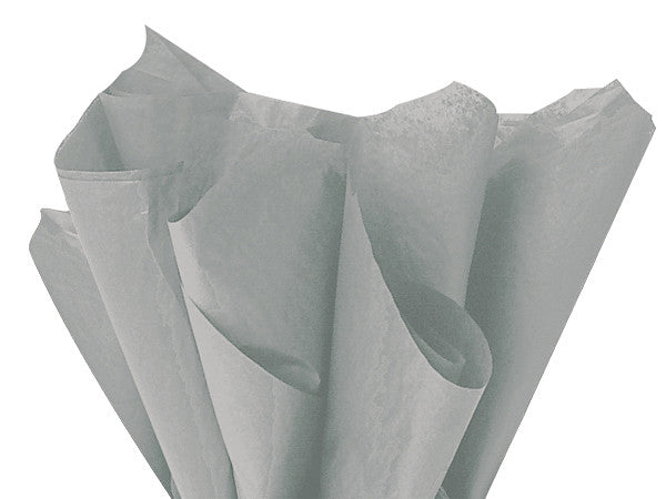 Solid Tissue Paper Gray