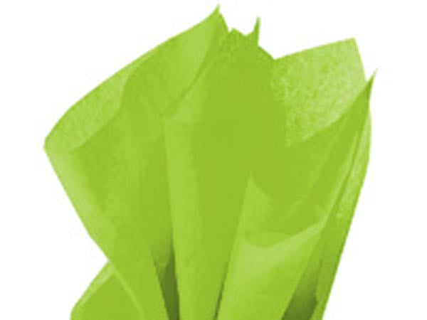 Solid Tissue Paper Groovy Green